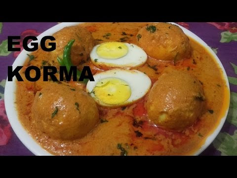 Tasty Restaurant Style Egg Korma Recipe/Egg Korma