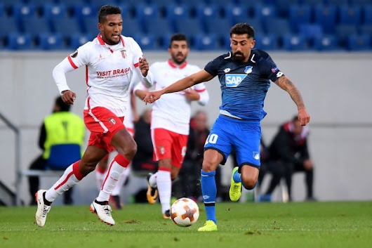Braga vs Hoffenheim Betting Predictions, 23 Nov 2017