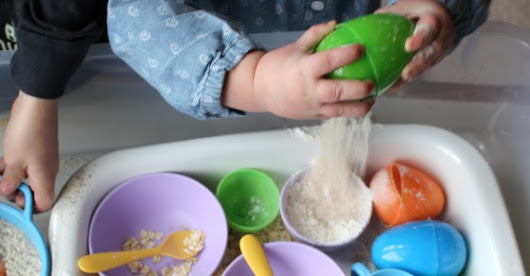 Easter Egg Sensory Play: Pretend Cooking | Inspiration Laboratories