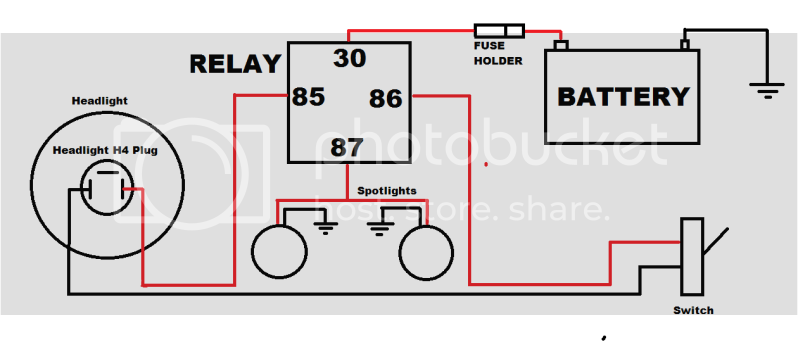 Spotlight Wiring Diagram Holden Colorado