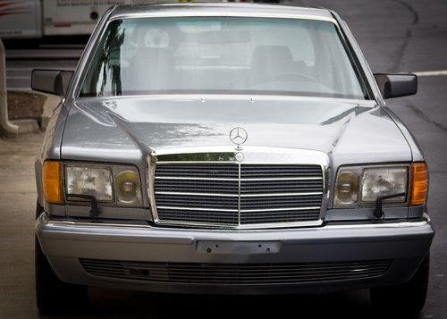 Purchase used 1990 Mercedes-Benz 560SEL Base Sedan 4-Door ...