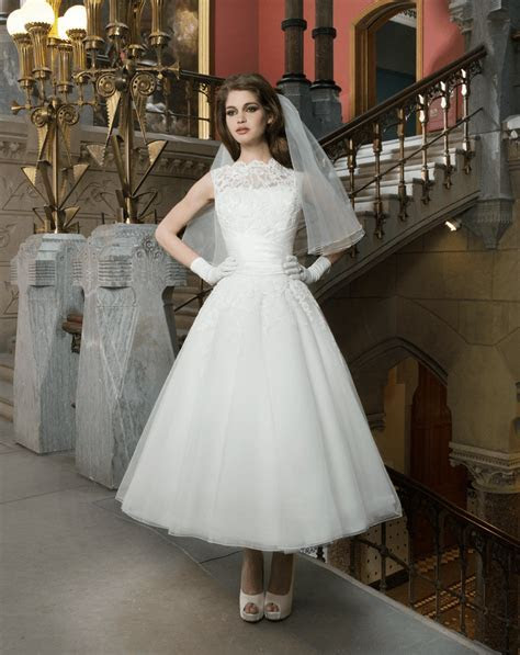 Justin Alexander 8706 Tea Length Dress   Sell My Wedding