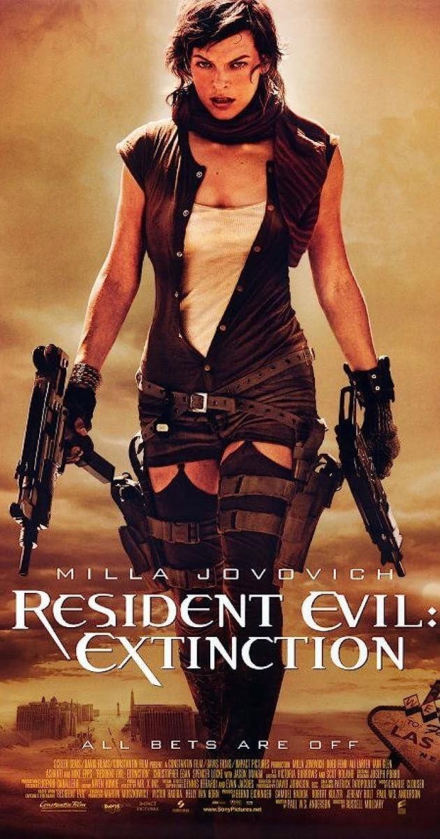 Resident Evil: Extinction(2007) 480p 720p 1080p BluRay Dual Audio (Hindi+English) Full Movie
