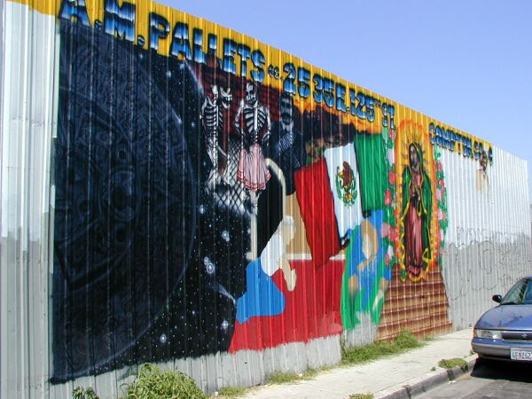 Mural Com Pallet