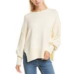 Theory Womens Side Slit Sweater