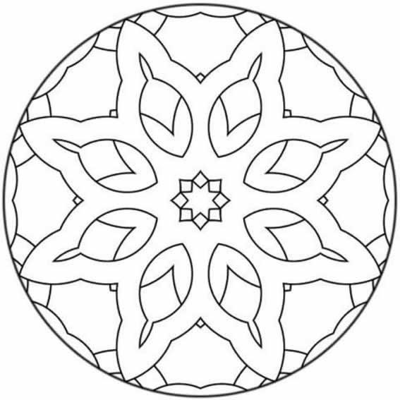 Immagini Di Mandala Da Stampare Innatiait