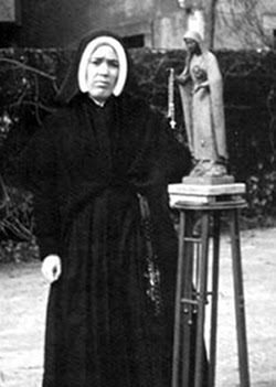 Sister Lucia in 1957