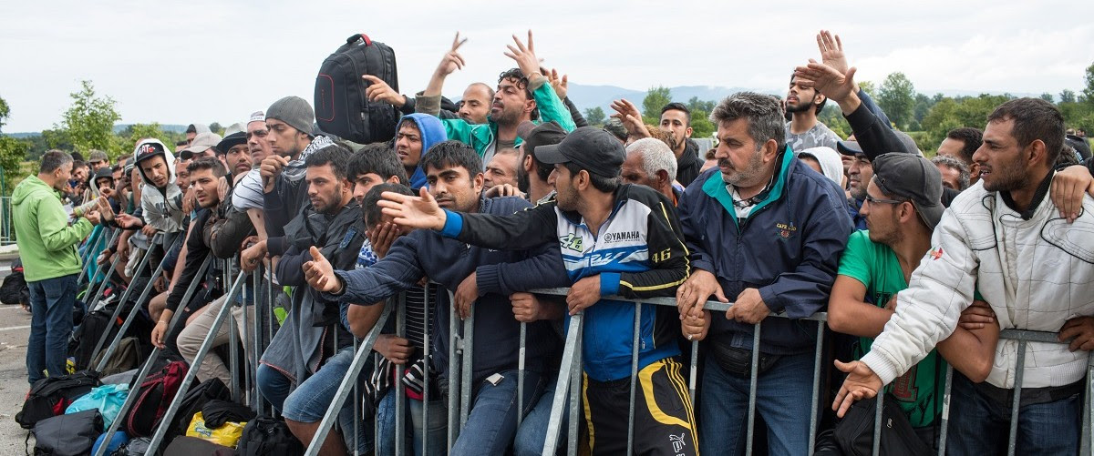 Refugee crisis in Europe. (Shutterstock)