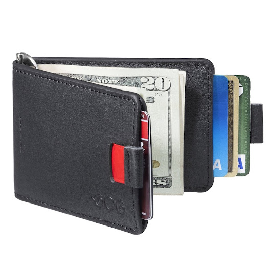 Review ~ Mens Ultra Slim Bifold Leather Wallet - Desafio In The City