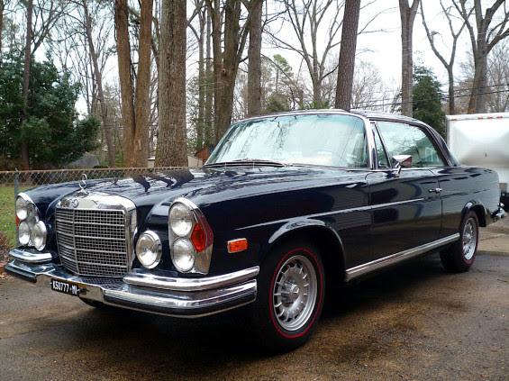 World traveler: '70 Mercedes-Benz 280SE 3.5 Coupe | Mint2Me