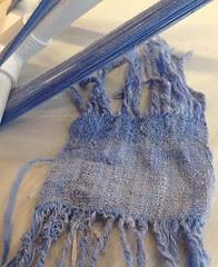 Sample silk and merino