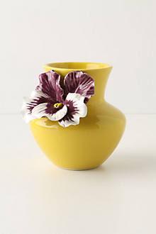 Pretty Pansy Vase