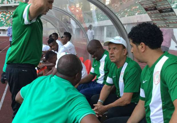 Image result for nigeria coach Gernot Rohr