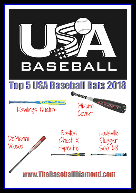 Top 5 Best USA baseball Bats 2018 - Help Your Team Truly Excel