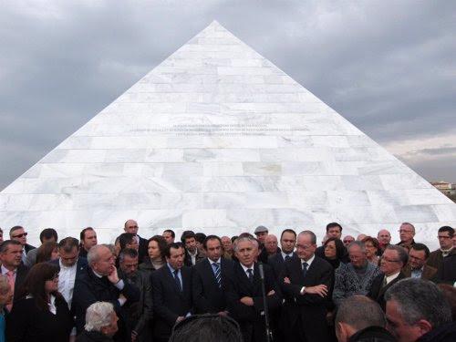 Inauguración del Panteón de la Memoria Histórica