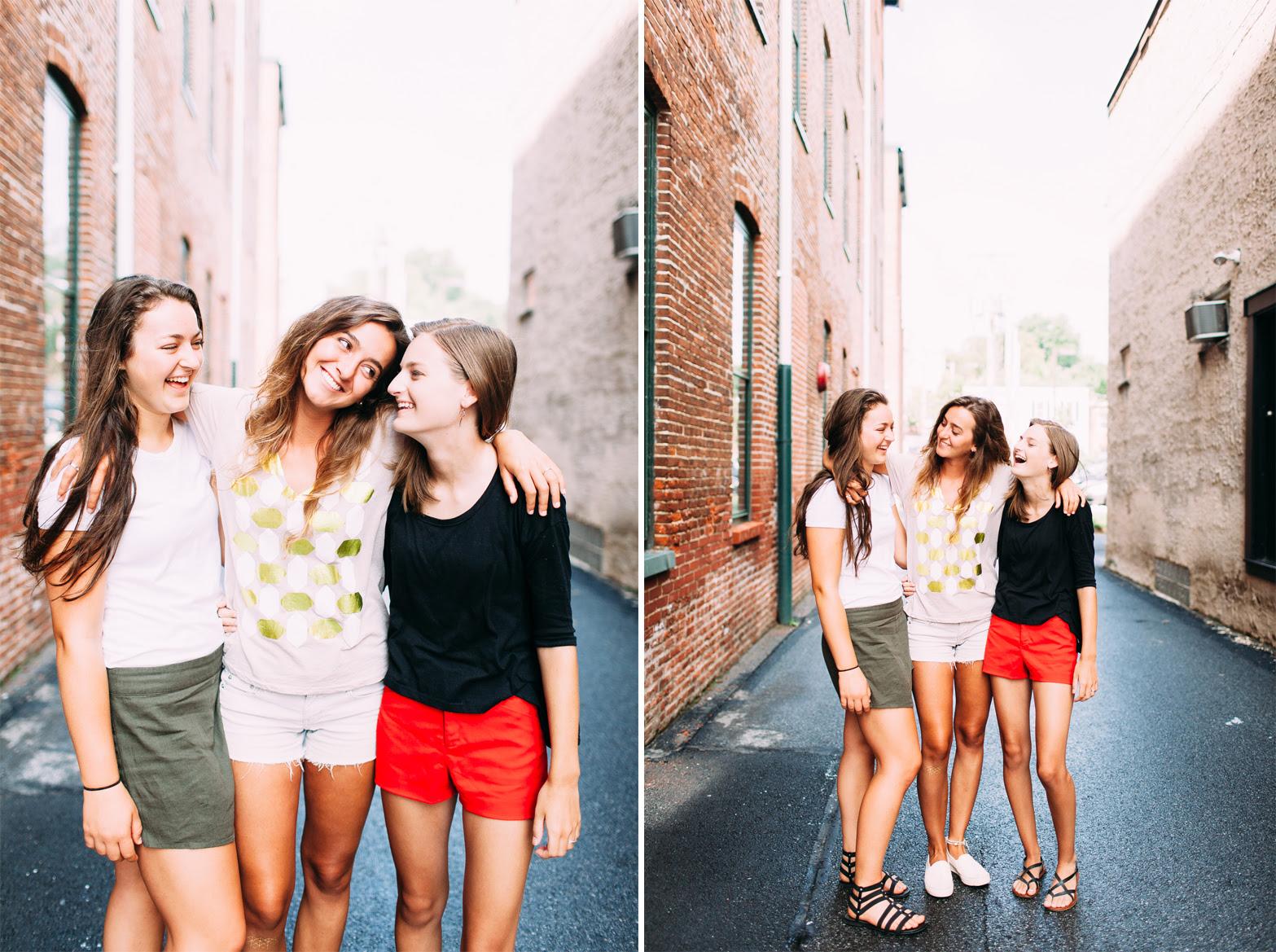 Three Best Friends Lancaster City Rebekah Viola Rebekah Viola