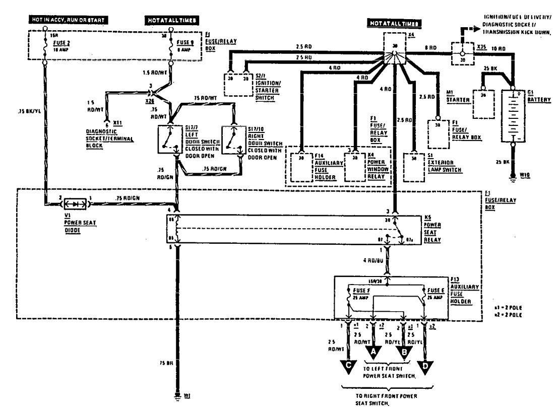 Fuel Mercede Filter Benz Location1996s500