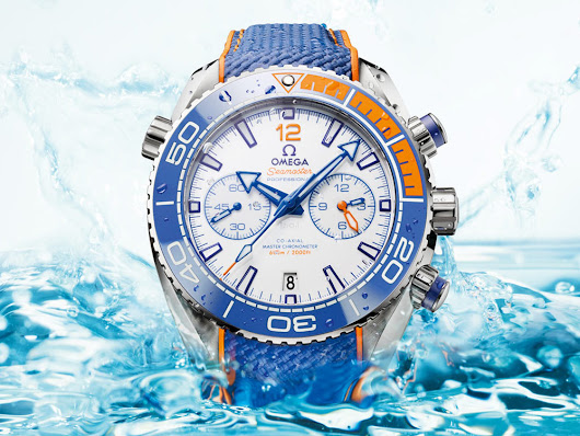 New Release: Omega Seamaster Planet Ocean Michael Phelps