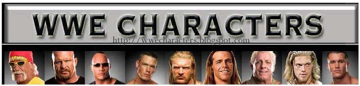 WWE Characters the Blog