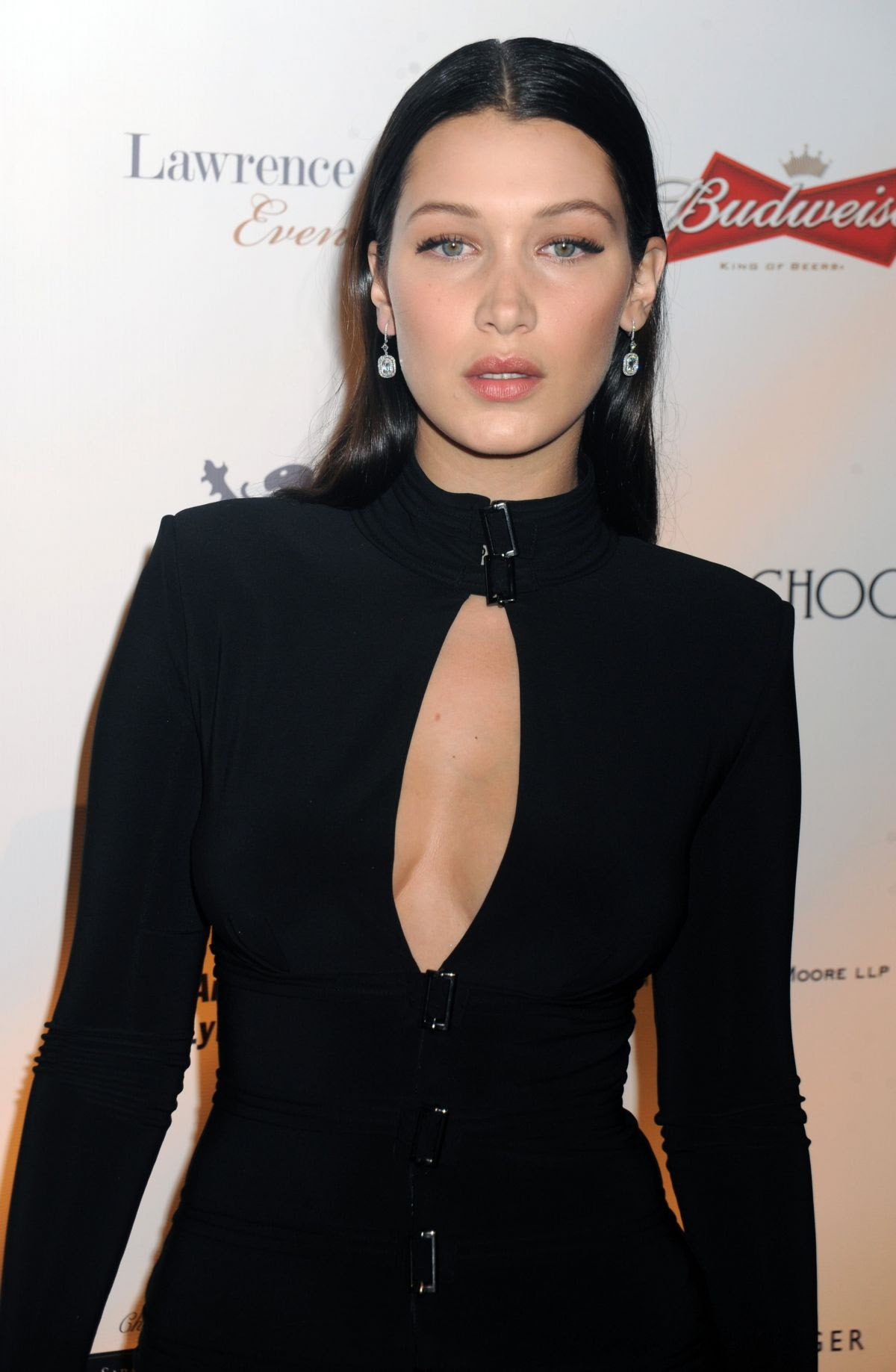 BELLA HADID at Global Lyme Alliance: Uniting for a Lyme-free World Inaugural Gala in New York 10/08/2015