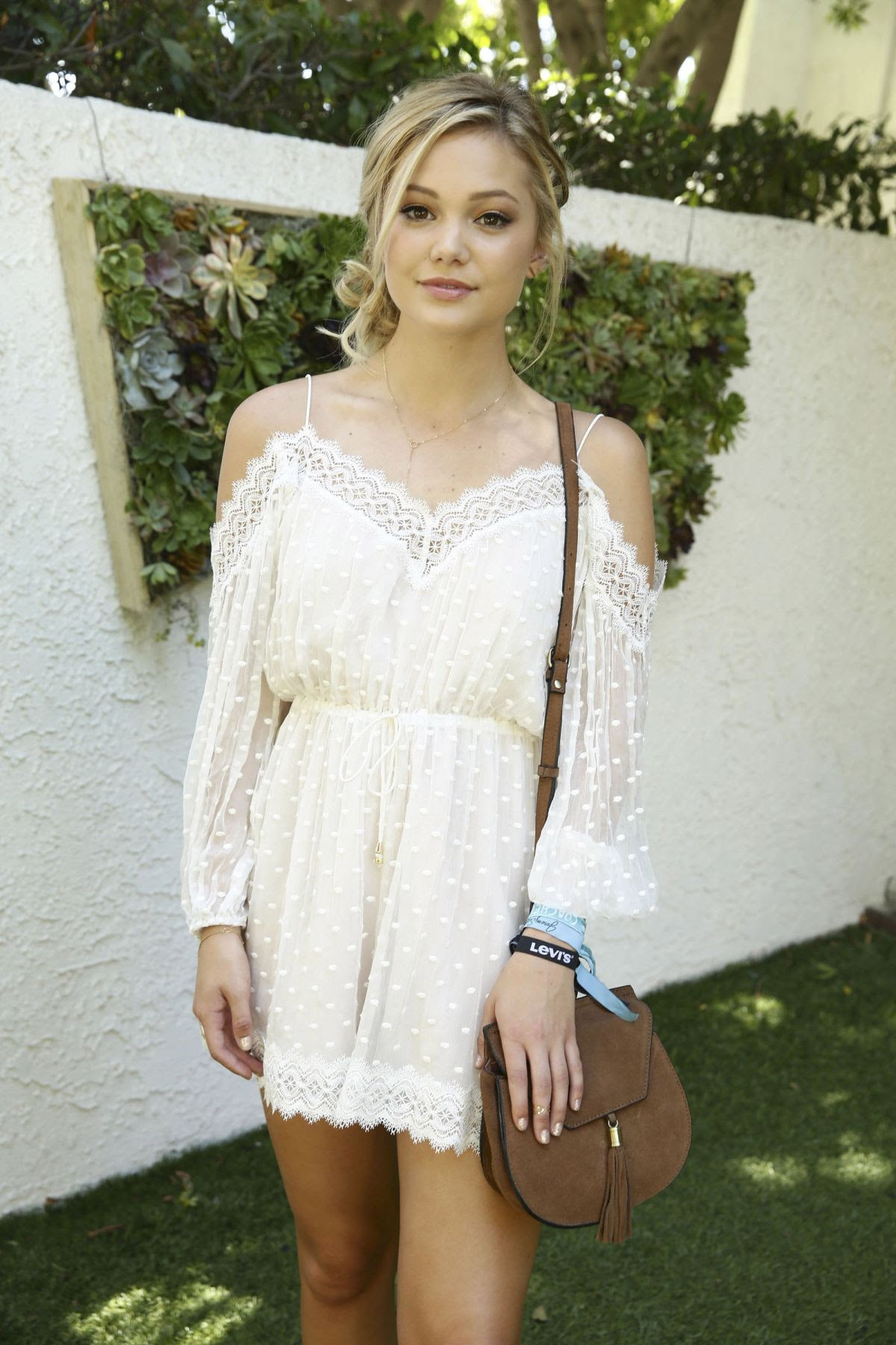 OLIVIA HOLT at Levi's at Coachella in Indio 04/16/2016