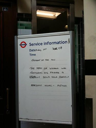 Kennington Station taken by Col