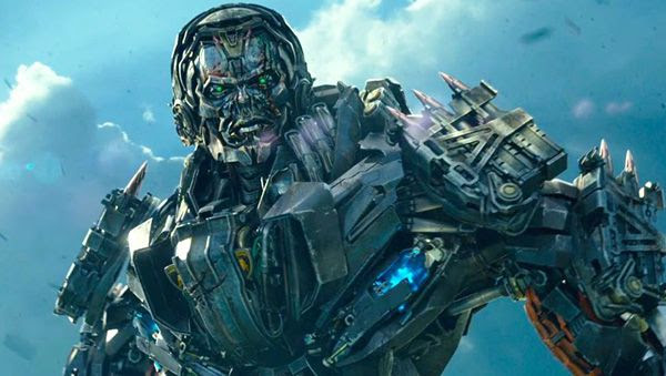 Lockdown is dispatched by mysterious beings known as the Creators to apprehend Optimus Prime in TRANSFORMERS: AGE OF EXTINCTION.