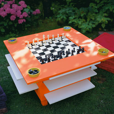 Outdoor Game Table