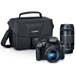 Canon EOS Rebel T6 DSLR Camera with 18-55mm and 75-300mm Lenses Kit 11