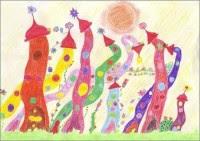 Ein Kunstwerk von Leonie 10 Jahre - Kunst für Kinder