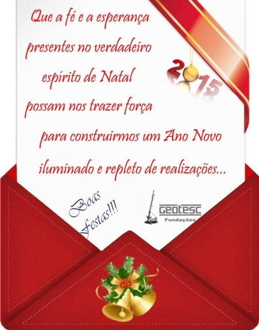 Feliz Ano Novo Geotesc