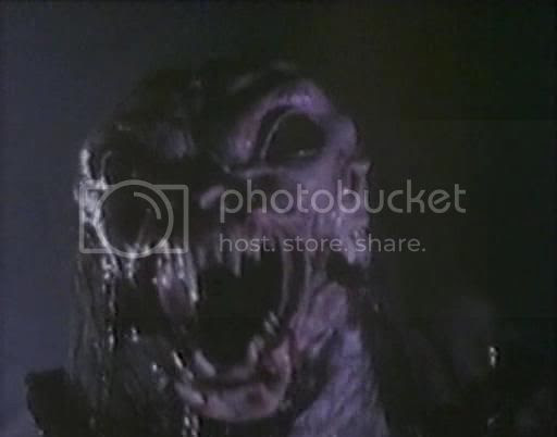 monstrous face