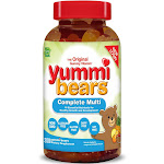 Hero Nutritionals Yummi Bears Gummy - 200 count