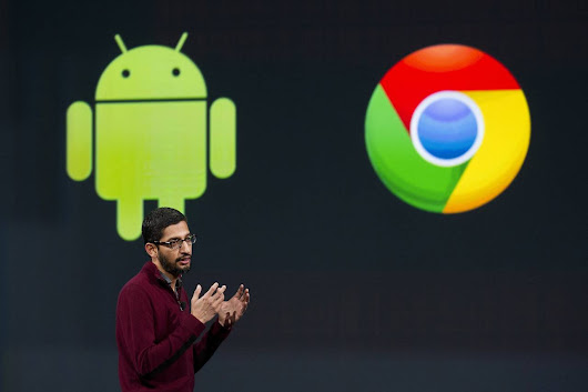 Google is going to combine both Chrome OS and Android OS into one Operating System