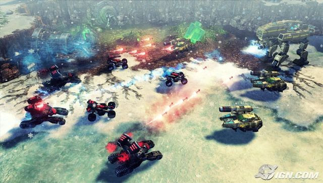 Command & Conquer 4: Tiberian Twilight Screenshot