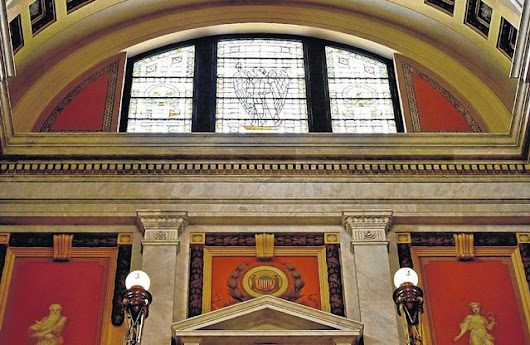 Luzerne County Courthouse stained glass needs repairs, report says
