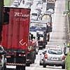 Veículos enfrentam tráfego intenso na Imigrantes
