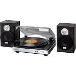 Jensen - Stereo Turntable - Silver/Black
