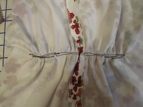 Elastic Thread on Inside Ruching