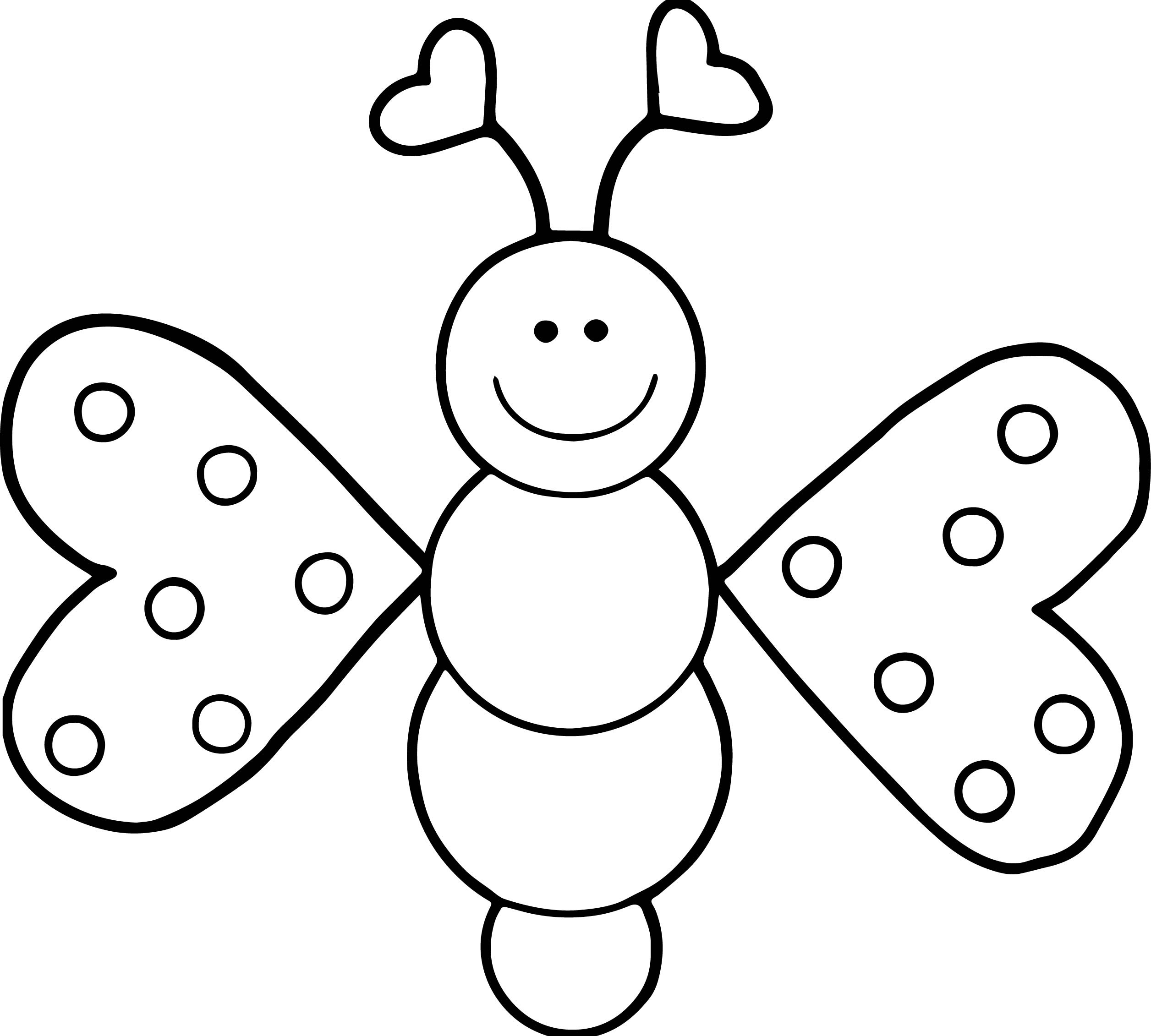Butterfly Coloring Pages   Free download on ClipArtMag
