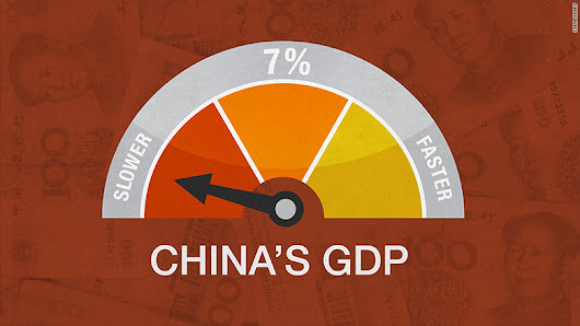 China posts slowest annual economic growth in 25 years