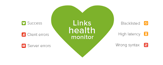 Monitor health of your links