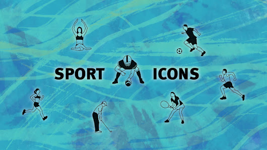 Free documentary Sport/Yoga-Iconset