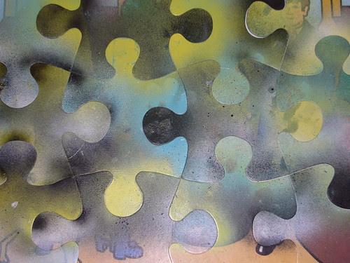 Painted Jigsaw