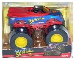 Amazon.com: Hot Wheels 2009 Monster Jam SUPERMAN Monster ...