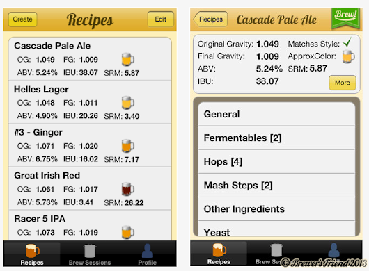 iPhone App Information Page | Brewer's Friend