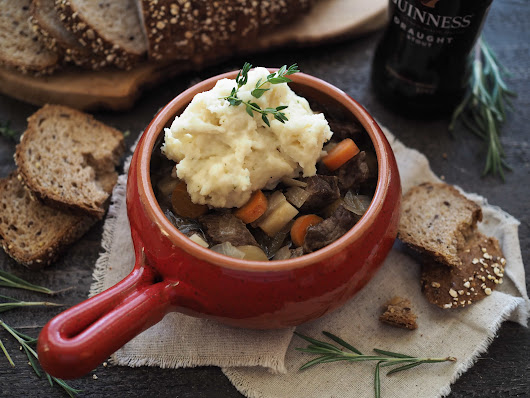 Slow Cooker Guinness Beef Stew - The Travel Bite