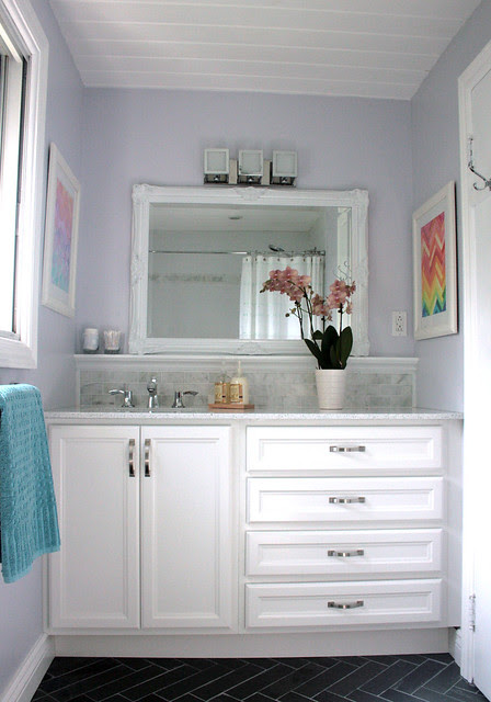 Finished bathroom - overall view