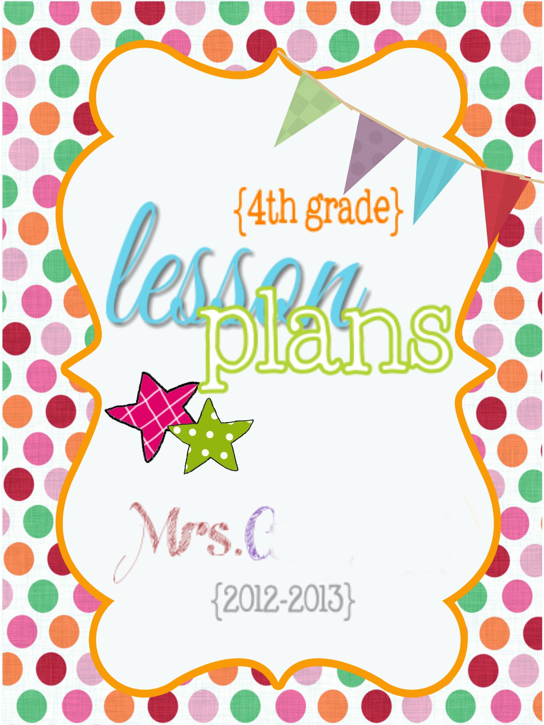 Cute Lesson Plan Template… Free Editable Download! | Living ...