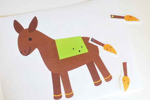 printable pin the tail on the donkey!